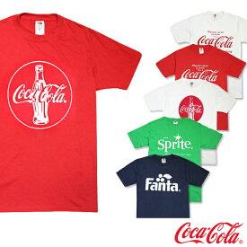 コカコーラ メンズ Tシャツ COKE コカ・コーラ ファンタ スプライト Tee 6種類 coke01