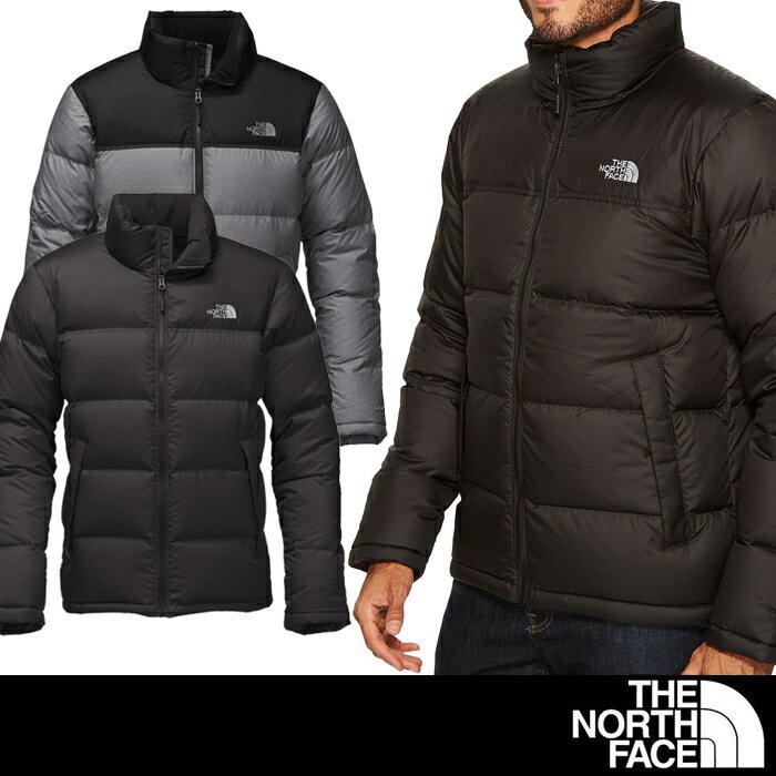 米国正規品 ノースフェイス THE NORTH FACEメンズ ダウンジャケット The North Face Nuptse Jacket fa06 ブラックTNF Black