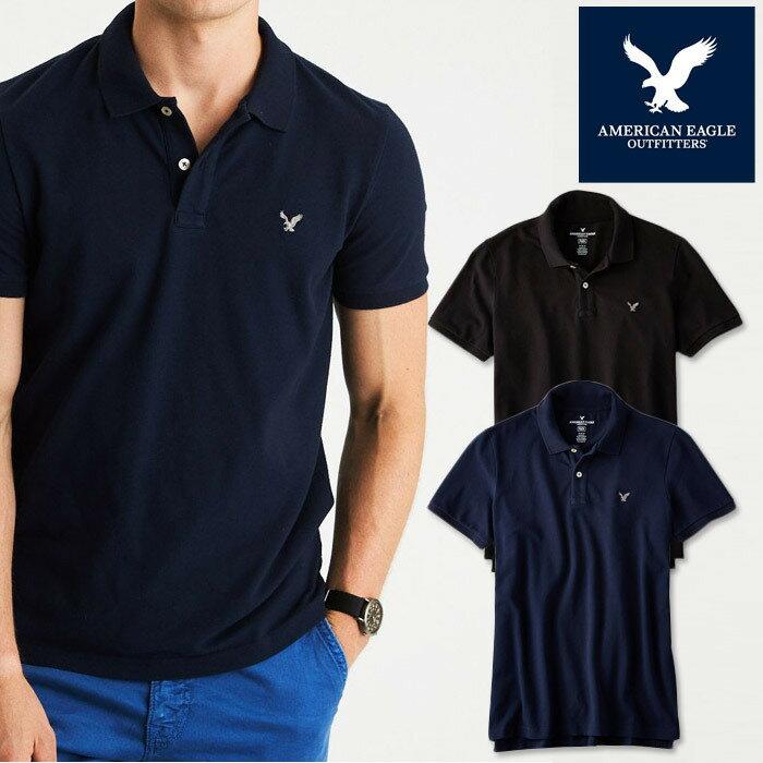 アメリカンイーグル ポロシャツ 半袖 メンズ AE American Eagle ae1861 5色