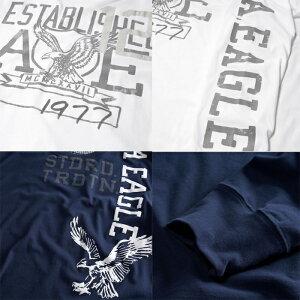 AmericanEagle・アメリカンイーグルメンズロンT長袖ロングTシャツ(ae261)ホワイト・ブラック・ネイビー・オリーブ