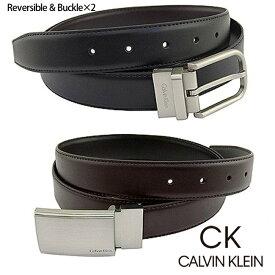 カルバンクライン ベルト CALVIN KLEIN CK 本革 レザーベルト ck352 ブラック ブラウン