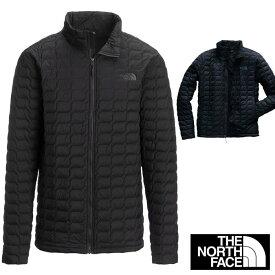 ノースフェイス 軽量ダウン ジャケット メンズ THE NORTH FACE THRMOBALL fa55 ブラック 黒 ネイビー アメリカから並行輸入品
