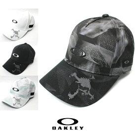 Oakley オークリー キャップ スカルモデル Skull Cap 帽子 ゴルフ・スポーツに oa234 ホワイト ブラック 男女兼用 912156