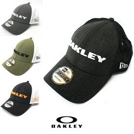 Oakley オークリー メッシュ キャップNEW ERA モデル 帽子 ゴルフ oa236 ホワイト ブラック 911523