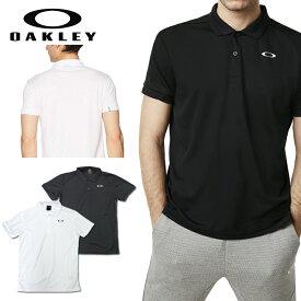 オークリー スポーツ ポロシャツ 速乾 吸汗 OAKLEY ENHANCE POLO ホワイト ブラック 白 黒 oa257 XL 大きいサイズあり