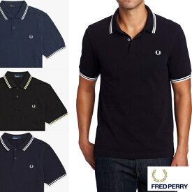 フレッドペリー FRED PERRY M3600 ポロシャツ SLIM FIT TWIN TIPPED SHIRT fred01 XL XXL XXXL大きいサイズ