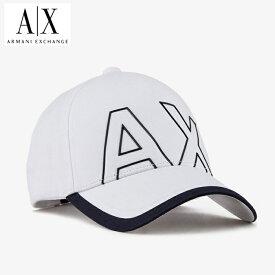A/X アルマーニ・エクスチェンジ・ユニセックス ARMANI EXCHANGE 正規 キャップ ハット 帽子 ax670 白 ホワイト