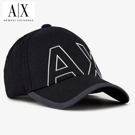A/X アルマーニ・エクスチェンジ・ユニセックス ARMANI EXCHANGE 正規 キャップ ハット 帽子 ax671 ブラック 黒