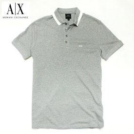 アルマーニエクスチェンジ メンズ 半袖 ポロシャツ A/X ARMANI EXCHANGE USA正規品 ax681 グレー