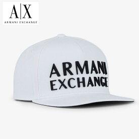 A/X アルマーニ・エクスチェンジ・ユニセックス ARMANI EXCHANGE 正規 キャップ ハット 帽子 ax692 白 ホワイト