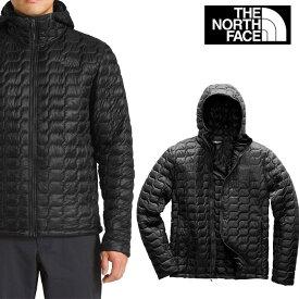 ノースフェイス 軽量ダウン ジャケット メンズ THE NORTH FACE THRMOBALL fa70 ブラック 黒 ネイビー