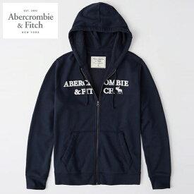 アバクロ フルジップ パーカー メンズ Abercrombie A&F ab675 ネイビー
