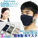 日本製 冷感マスク COOLMAX素材 大臣マスク 抗菌UVカット 洗える 立体 布マスク 子供 女性 男性サイズ kt04 カーキ …