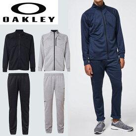 オークリー セットアップ トレーニングウエアー 上下セット スウェット ジャージ OAKLEY ENHANCE TECH JERSEY JACKET/PANTS 10.7 XLサイズ有り oa367