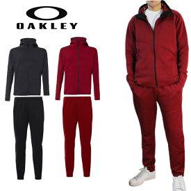 オークリー セットアップ トレーニングウエアー スウェット ジャージ 速乾 反射材 UPF50+ OAKLEY ENHANCE 3RDG SYNCHRONISM JKT/Pants 3.7 XLサイズ有り oa370