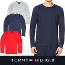 USA直送【TOMMY HILFIGER】トミーヒルフィガーメンズ ロングTシャツ サーマル t458 グレー レッド ネイビー