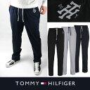 アメリカ正規品【TOMMY HILFIGER】トミーヒルフィガーメンズ スウェットパンツ t462 ブラック ネイビー グレー