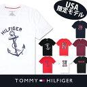米国より直輸入【TOMMY HILFIGER】トミーヒルフィガーメンズ Tシャツ t463 レッド ブラック ネイビー ホワイト 米国正規 大きめサイズ