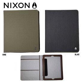 【NIXON】ニクソン HARDCOVER IPAD2 CASE/iPADケース アイパッドケース 二つ折りケース/ブラック・ボーン