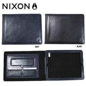 【NIXON】ニクソン GLACE IPAD2 CASE/iPADケース アイパッドケース 二つ折りケース/ブラック・ネイビー