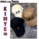 【WORLD WIDE FAMOUS】ワールドワイドフェイマス 2017summer KIMYE-CD キャップ 帽子 メンズ レディース 3カラー 【あす楽対...
