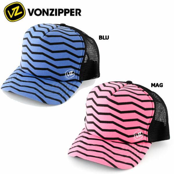 【vz-ad211-905】【VONZIPPER】ボンジッパー2013春夏/FAHRENHEIT TRUCKER CAP メンズメッシュキャップ 帽子/2カラー/ロゴアイコン【あす楽対応】