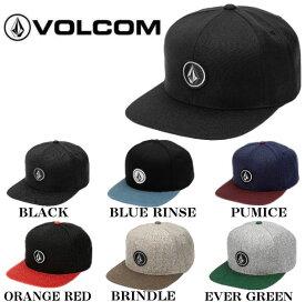 【VOLCOM】ボルコム 2019秋冬 Quarter Snap Back Hat メンズ スナップバック キャップ 帽子 6カラー【あす楽対応】