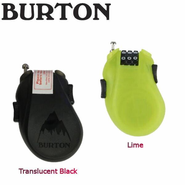 【BURTON】バートン CABLE LOCK 鍵 スノーボード キーロック ダイアル式 ケーブル アクセサリー 2カラー【あす楽対応】【BURTON JAPAN正規品】