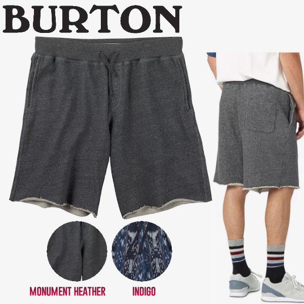 【BURTON】バートン2017春夏 Baja Shor メンズハーフパンツ ショートパンツ パーパン スウェット S・M 2カラー 【あす楽対応】