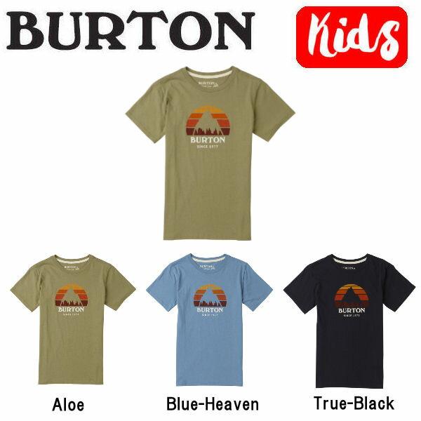 【BURTON】バートン 2018春夏 Boys Underhill SS Tee キッズ ジュニア 半袖Tシャツ ティーシャツ トップス XS-L 3カラー【あす楽対応】【BURTON JAPAN正規品】