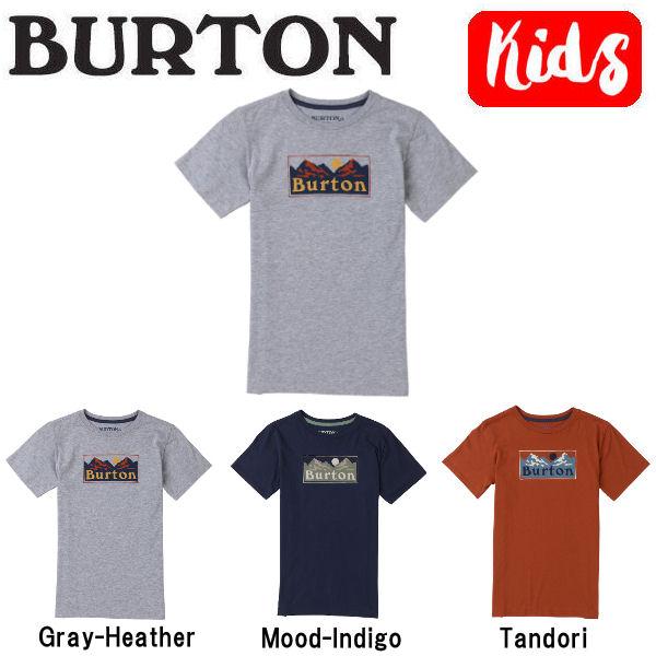 【BURTON】バートン 2018春夏 Boys Ralleye SS Tee キッズ ジュニア 半袖Tシャツ ティーシャツ トップス XS-L 3カラー【あす楽対応】【BURTON JAPAN正規品】
