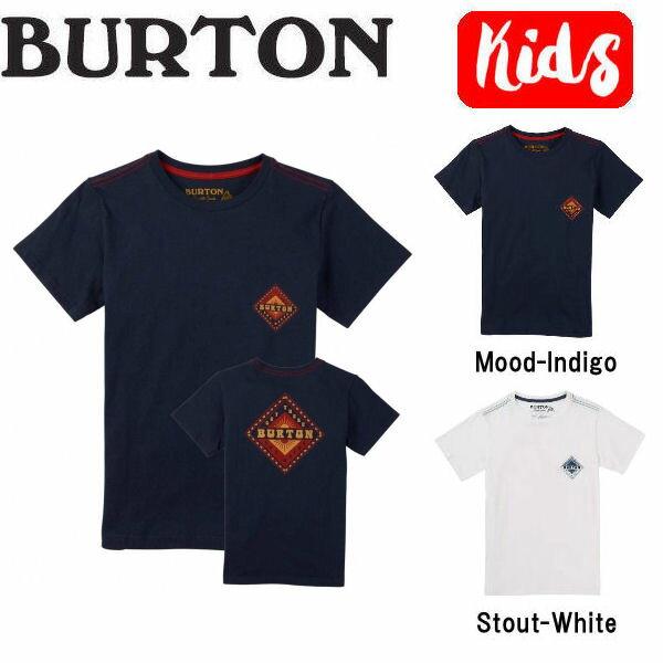 【BURTON】バートン 2018春夏 Boys Anchor Point SS Tee キッズ ジュニア 半袖Tシャツ ティーシャツ トップス XS-L 2カラー【あす楽対応】【BURTON JAPAN正規品】
