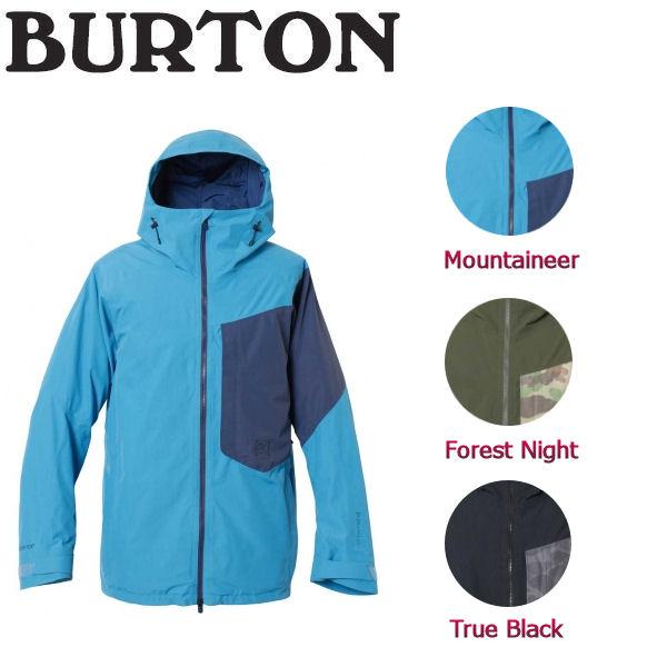 【特典あり】【BURTON】バートン2017-2018 [ak] Gore-Tex 2L Boom Jacket メンズジャケット アウター ジャケット S-XL 3カラー 【BURTON JAPAN正規品】【あす楽対応】