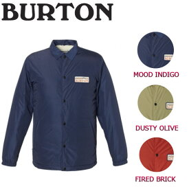 【BURTON】バートン2017秋冬 Coaches Jacket メンズコーチジャケット アウター ジャケット XS-XL 3カラー 【BURTON JAPAN正規品】【あす楽対応】
