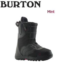 【BURTON】バートン 2018-2019 Mint レディース スノーブーツ スノーボード 靴 アジアンフィット 5.5-7.5 Black【BURTON JAPAN 正規品】