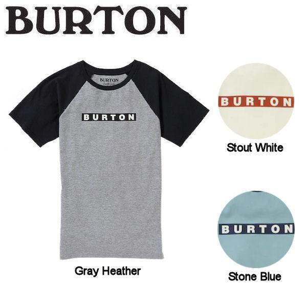 【BURTON】バートン 2019春夏 Kids' Burton Vault Organic Short Sleeve T-Shirt キッズ Tシャツ 半袖 海水浴 ビーチ 3カラーXS / S / M / L / XL【あす楽対応】