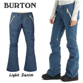 【BURTON】バートン 2019-2020 Womens Burton Vida Stretch Denim Pant レディース スノーパンツ スノーウエア ボトムズ スノーボード XS・S・Mサイズ カラーLight Denim【BURTON JAPAN正規品】【あす楽対応】