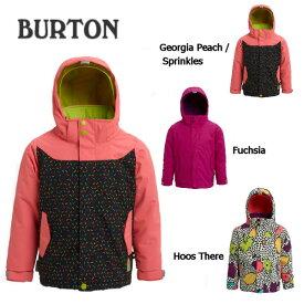 【BURTON】バートン 2019-2020 Toddler Burton Elodie Jacket ガールズ スノーボードウェア 長袖 フード ジャケット キッズ 子供用 2T・3T・4T・5/6 3カラー【BURTON JAPAN正規品】【あす楽対応】