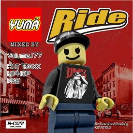 【DJ YUMA】RIDE Volume.177 HIP HOP R&B MIX CD【あす楽対応】