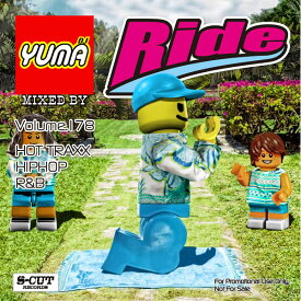 【DJ YUMA】RIDE Volume.178 HIP HOP R&B MIX CD【あす楽対応】