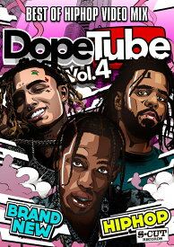【DopeTube】Best Of Hip Hop Video Mix- Vol.4 ヒップホップ DVD 90分