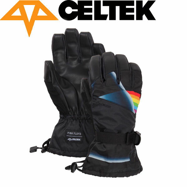 【CELTEK】セルテック2015秋冬 Pf Gunnar メンズスノーグローブ スノーボード 五本指手袋/XS-XL/PinkFloyd【あす楽対応】