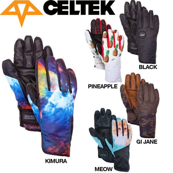 【CELTEK】セルテック2015秋冬 Maya Glove レディーススノーグローブ スノーボード 五本指手袋/XS-XL/5カラー【あす楽対応】
