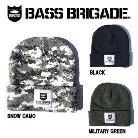 【BASS BRIGADE】バスブリゲード 2019春夏 HEAVYWEIGHT KNIT WATCHER CAP メンズ ビーニー ニット帽 ニットキャップ 帽子 フィッシング 釣り 防寒 3カラー
