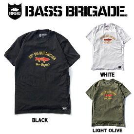 【BASS BRIGADE】バスブリゲード 2019秋冬 88TH BIG BAIT DIVISION TEE メンズ Tシャツ 半袖 アウトドア フィッシング 釣り 3カラー S・M・L・XL・XXL【あす楽対応】