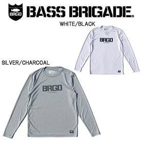 【BASS BRIGADE】バスブリゲード 2019 BRGD LOGO PERFORMANCE L/S TEE メンズ ロングスリーブ Tシャツ 長袖 アウトドア フィッシング 釣り 2カラー S~XXL【あす楽対応】