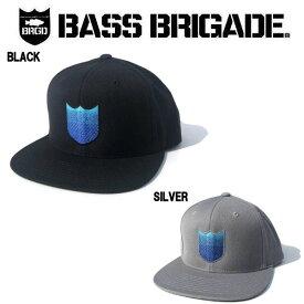 【BASS BRIGADE】バスブリゲード 2019 BLANK SHIELD SNAPBACK HAT メンズ キャップ スナップバック 2カラー【あす楽対応】