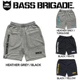 【BASS BRIGADE】バスブリゲード 2019春夏 BRGD LOGO SWEAT SHORTS メンズ ショーツ ハーフパンツ スウェットパンツ アウトドア フィッシング 釣り 4カラー S・M・L・XL