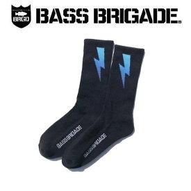 【BASS BRIGADE】バスブリゲード 2019 GRADIENT BOLT SOCKS メンズ ソックス アウトドア フィッシング 釣り 25cm~30cm【あす楽対応】