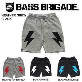 【BASS BRIGADE】バスブリゲード 2019春夏 BOLT SWEAT SHORTS メンズ ショーツ ハーフパンツ スウェットパンツ アウトドア フィッシング 釣り 4カラー S・M・L・XL